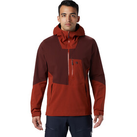 Mountain Hardwear Exposure/2 Gore-Tex Paclite Stretch Pullover Heren, rusted